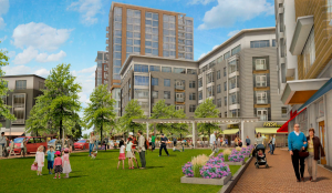Washington Village Rendering