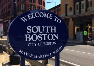 Welcome to South Boston Sign
