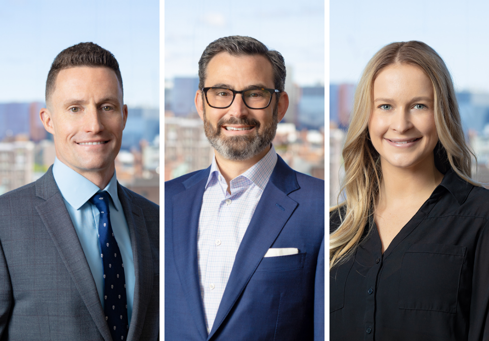 MEDIA RELEASE: Core Investments, Inc. Adds Three New Professionals to its Staff; Bowen, Greene, and Pellerin Will Focus on Development, Construction, and Assets